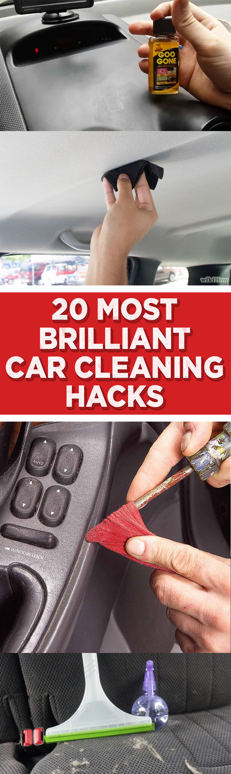 Car cleaning hacks, clean car, car hacks, car detailing, popular pin, car organization, DIY car cleaning. #Cleaning #CleanCar #CleanCarTips #CarOrganization #ClutterFreeCar