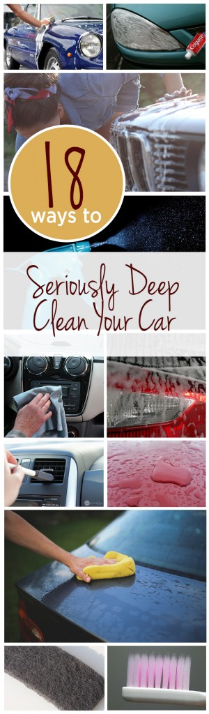 18 Ways to Seriously Deep Clean Your Car