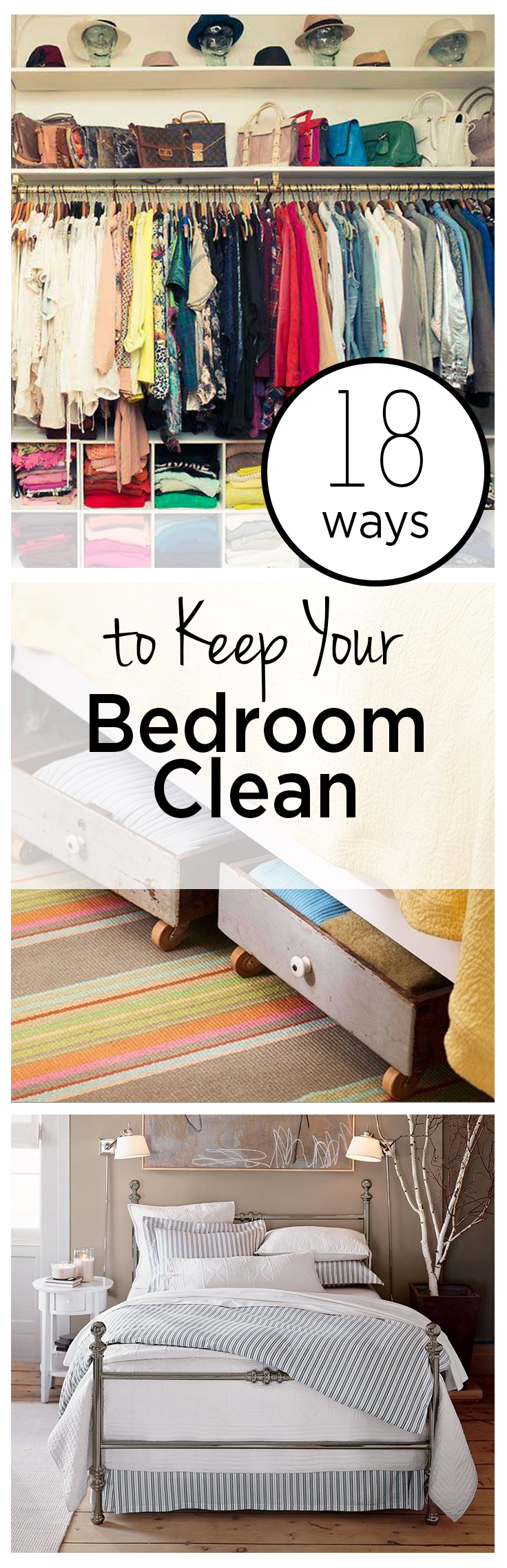 18 Ways To Keep Your Bedroom Clean Wrapped In Rust