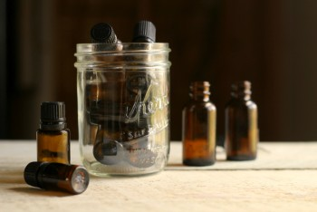 8 Ways to Recycle Essential Oil Bottles8