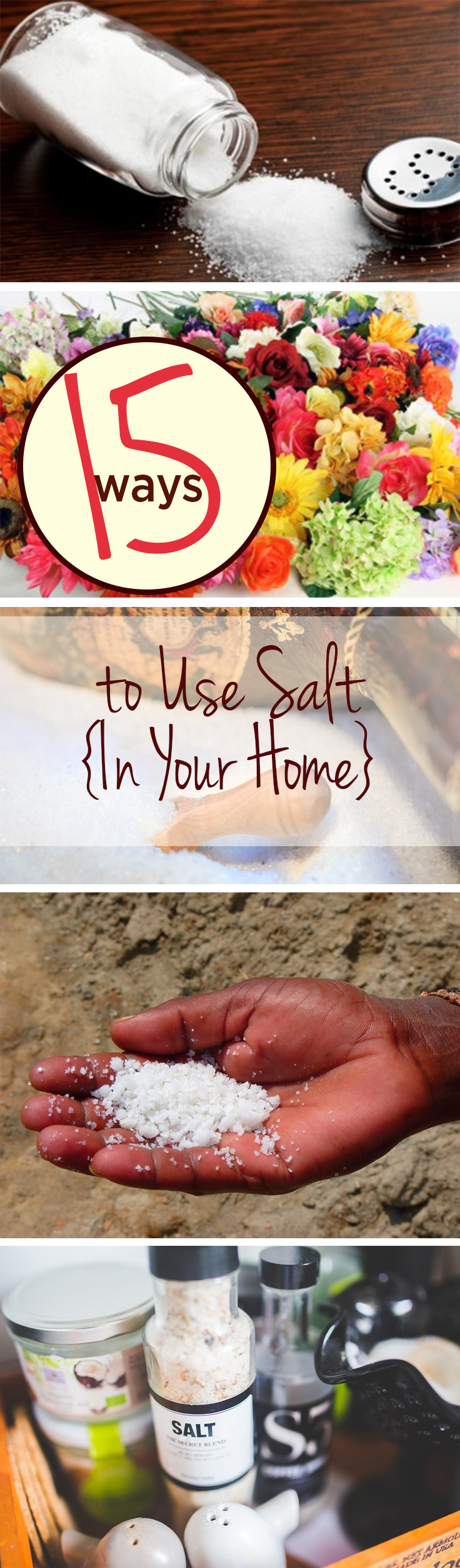 Salt, things to do with salt, salt hacks, popular pin, cleaning, cleaning hacks, clean home, organized life