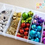Christmas Storage, How to Store Christmas Decorations, Holiday Decoration Storage, Organization Ideas, Organization Hacks, Holiday Storage TIps and Tricks, Frugal Storage for Christmas Decor