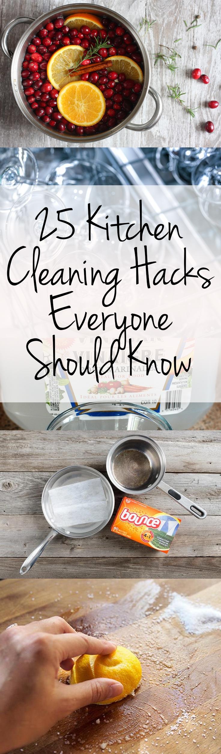 Kitchen, Kitchen Cleaning Hacks, Cleaning Tips and Tricks, Kitchen DIY, Kitchen Organization, Popular Pin, Easy Kitchen Updates