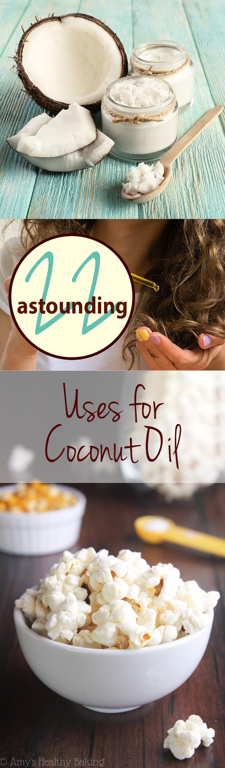 Uses for Coconut Oil, How to Use Coconut Oil, Using Coconut Oil in the Home, How to Use Coconut Oil in the Home, Coconut Oil Hacks, Things to Do with Coconut Oil, Popular Pin