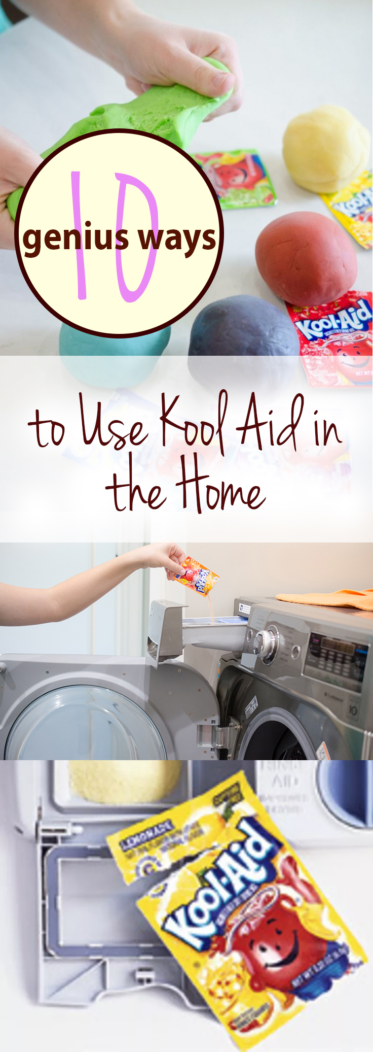 10 Genius Ways To Use Kool Aid In The Home Wrapped In Rust
