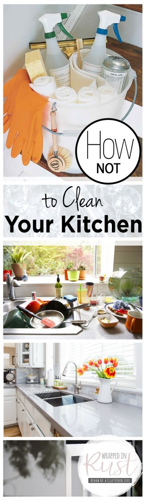 How NOT to Clean Your Kitchen| Kitchen Cleaning, Kitchen Cleaning Tips and Tricks, Cleaning Hacks, Cleaning 101, How to Clean Your Kitchen, Clean Home, Clean Home Hacks, Home Cleaning Tips and Tricks, Popular Pin