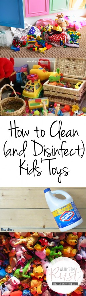 How to Clean (and Disinfect) Kids' Toys  How to Clean Kids Toys, Cleaning Kids Toys, Cleaning, Cleaning Hacks, Clean Home Hacks, Cleaning Tips and Tricks, Kids Cleaning, Cleaning Up After Kids, Cleaning Toys, Popular Pin