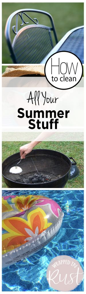 How to Clean All Your Summer Stuff| How to Clean Your Summer Stuff, Cleaning Your Summer Gear, How to Clean Your Summer Necessities, Home Cleaning, Home Cleaning and Tips and Tricks, Clean Your Home, Outdoor Cleaning TIps and Tricks, Cleaning Hacks