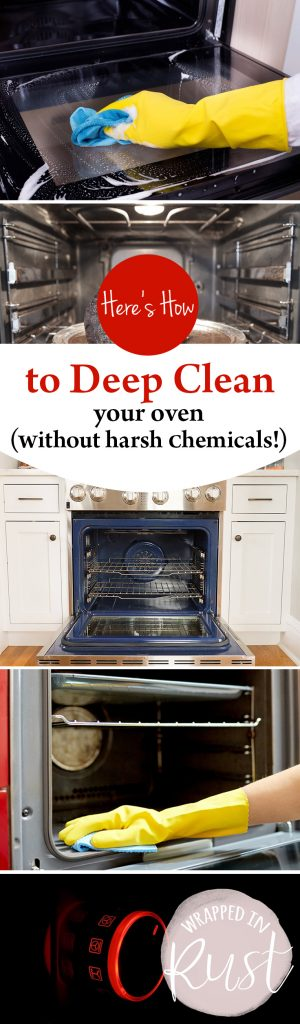 How to Deep Clean Your Oven, Clean Your Oven, DIY Cleaning, Cleaning Tips and Tricks, How to Clean Your Oven Without Harsh Chemicals, All Natural Cleaning TIps, Popular Pin