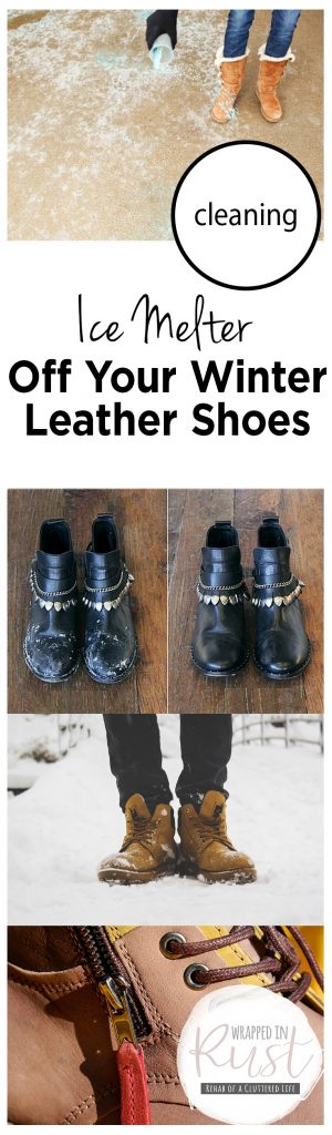 Cleaning Ice Melter Off Your Winter Leather Shoes| Cleaning Your Shoes, How to Clean Your Shoes, Shoe Cleaning Hacks, Cleaning Ice Melter Off Your Shoes, Clean Leather Shoes, How to Clean Leather Shoes #CleanWinterShoes #CleaningShoes #CleanShoes