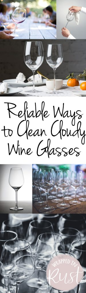 Reliable Ways to Clean Cloudy Wine Glasses| Clean Wine Glasses, How to Clean Wine Glasses, Cleaning Cloudy Glasses, Cleaning Tips and Tricks, Cleaning 101. #WineGlasses #Cleaning #CleaningTips