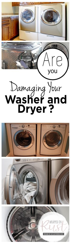 Are You Damaging Your Washer and Dryer?| Washer and Dryer, Washer and Dryer Hacks, Home Hacks, Home Care, Home Care Hacks, Popular Pin #HomeHacks #HomeCare