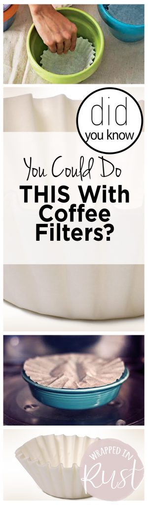 Did You Know You Could Do THIS With Coffee Filters?| Coffee Filters, Coffee Filter Hacks, Home Hacks, DIY Home, DIY Home Stuff, Life Hacks #HomeHacks #DIYHomeStuff