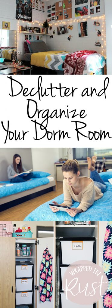 Declutter and Organize Your Dorm Room| Declutter and Organize, Decluttering Ideas, Declutter, Decluttering Home, Decluttering Ideas, Organization, Organization Ideas for the Home,  Organize, Organize Ideas