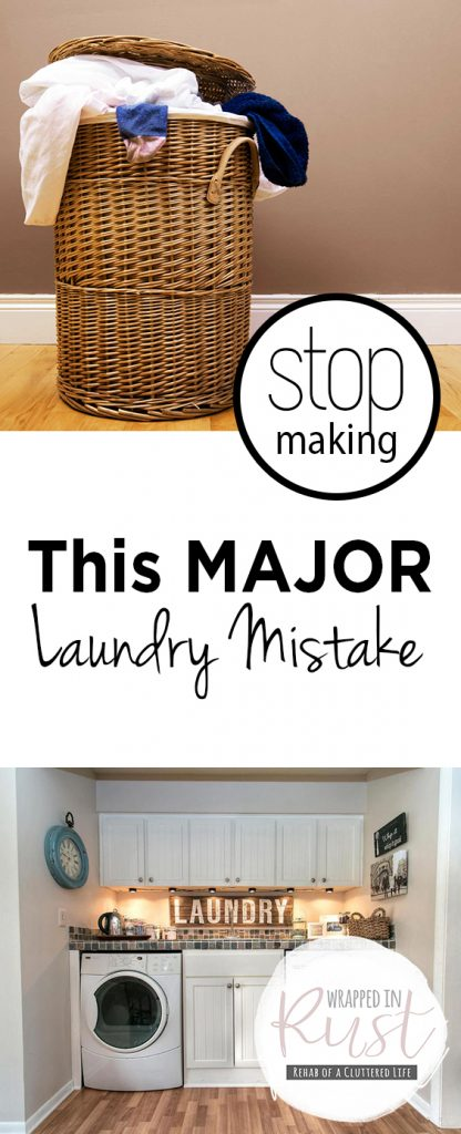 Stop Making This MAJOR Laundry Mistake| Laundry, Laundry Hacks, DIY Laundry, Laundry Room, Cleaning, Cleaning Tips, Cleaning TIps for the Home, Cleaning Hacks #Laundry #LaundryRoom #Cleaning #CleaningTips #CleaningHacks