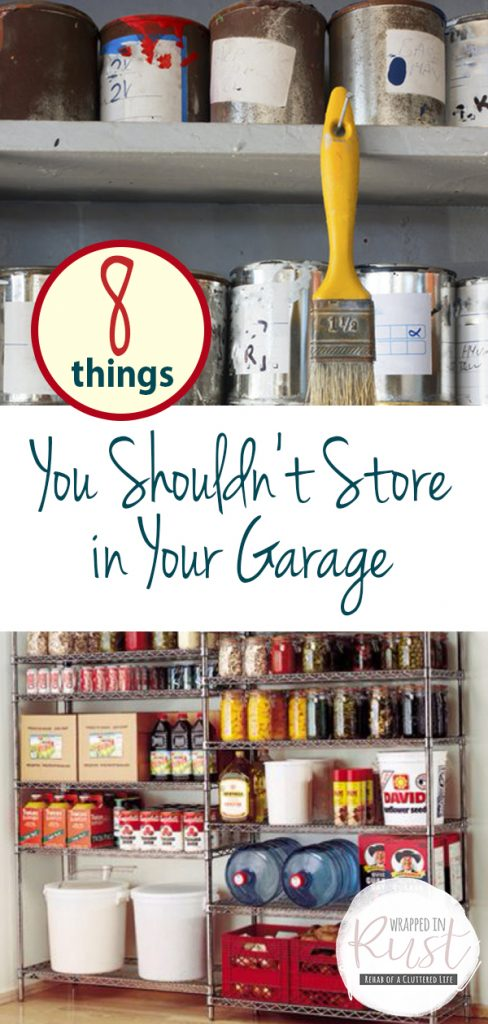 8 Things You Shouldn't Store in Your Garage| Garage Storage, Garage Storage Ideas, Garage Storage DIY, Garage Storage Organization, Organization, Organization Ideas