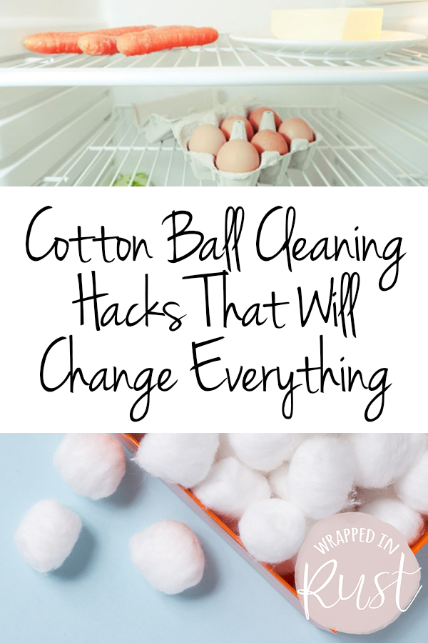 Cotton Ball Cleaning Hacks That Will Change Everything| Cleaning, Cleaning Tips, Cleaning Hacks, Cleaning 101, Life Hacks