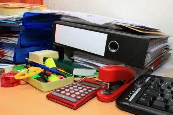 Desk Organization | DIY Desk Organization | Tips and Tricks for Desk Organization | Organize | Get Organized | Organized Office