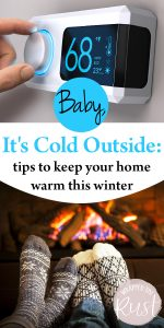 Winterizing Tips | Winterizing Tips and Tricks | DIY Winterizing Tips | Keep your Home Warmer in the Winter | Warmer Home | Winter Homes | Winterizing Hacks
