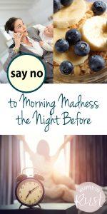 Morning Organizational Ideas | Morning Organization Ideas | Morning Madness | Morning Organization Tips and Tricks