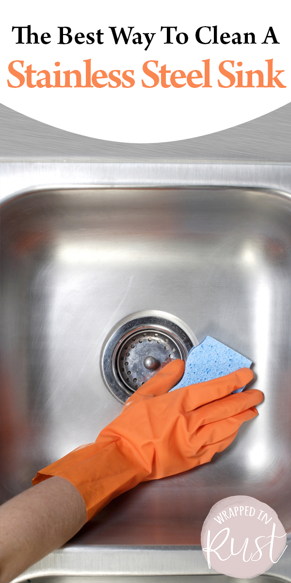 Clean A Stainless Steel Sink | clean | how to | stainless sink | stainless steel | steel sink