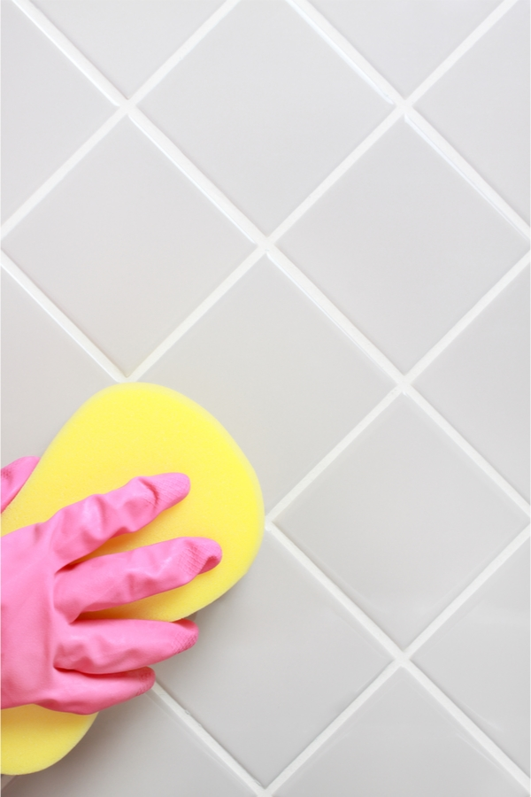 Grout Cleaning Tips | clean | grout | hacks | tips and tricks | cleaning tips | grout cleaning