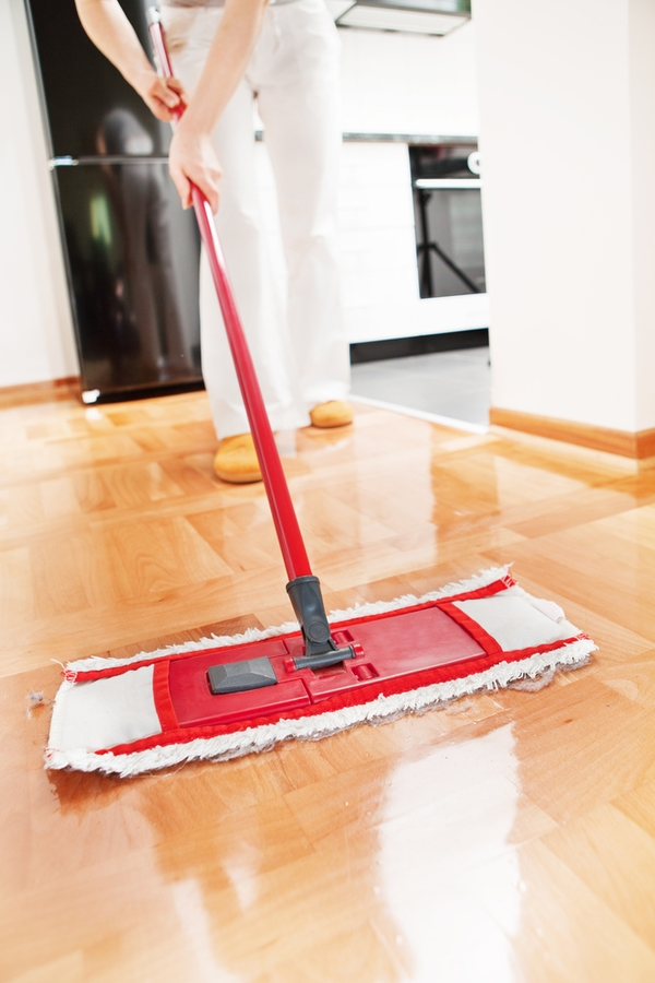 Taking care of hardwood floors can be a lot of work. If you want to clean them without harsh chemicals, here's how to clean hardwood floors naturally.