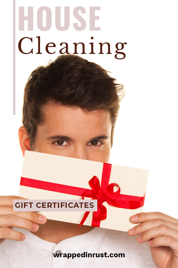 I think this might be the most appreciated gift ever. I know I would love to receive a house cleaning gift certificate. There are just some weeks in which I either don't have time, or just don't want to clean. That would be the week I would redeem my certificate. Give a gift that someone will truly love. Watch them smile when they realize what you have done for them. Well done. That's the spirit of Christmas. #cleaninggiftcertificate #giftideas